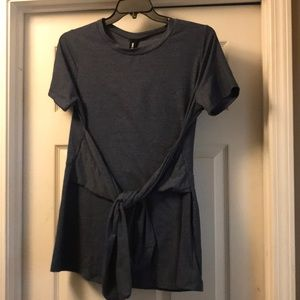 Agnes & Dora side sash shirt